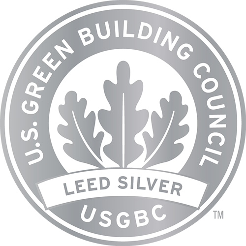 U.S. Green Building Council LEED Silver badge