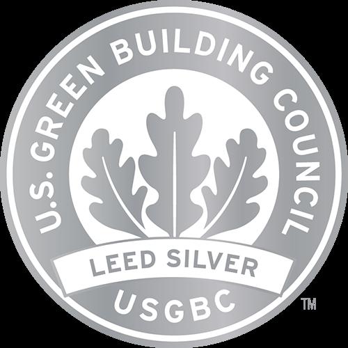 U.S. Green Building Council LEED Silver badge